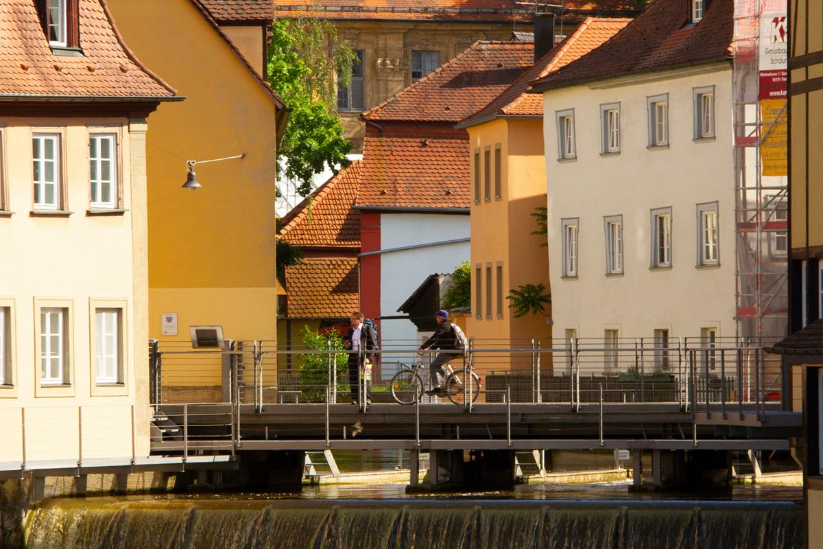 Bamberg am Wasser gebaut